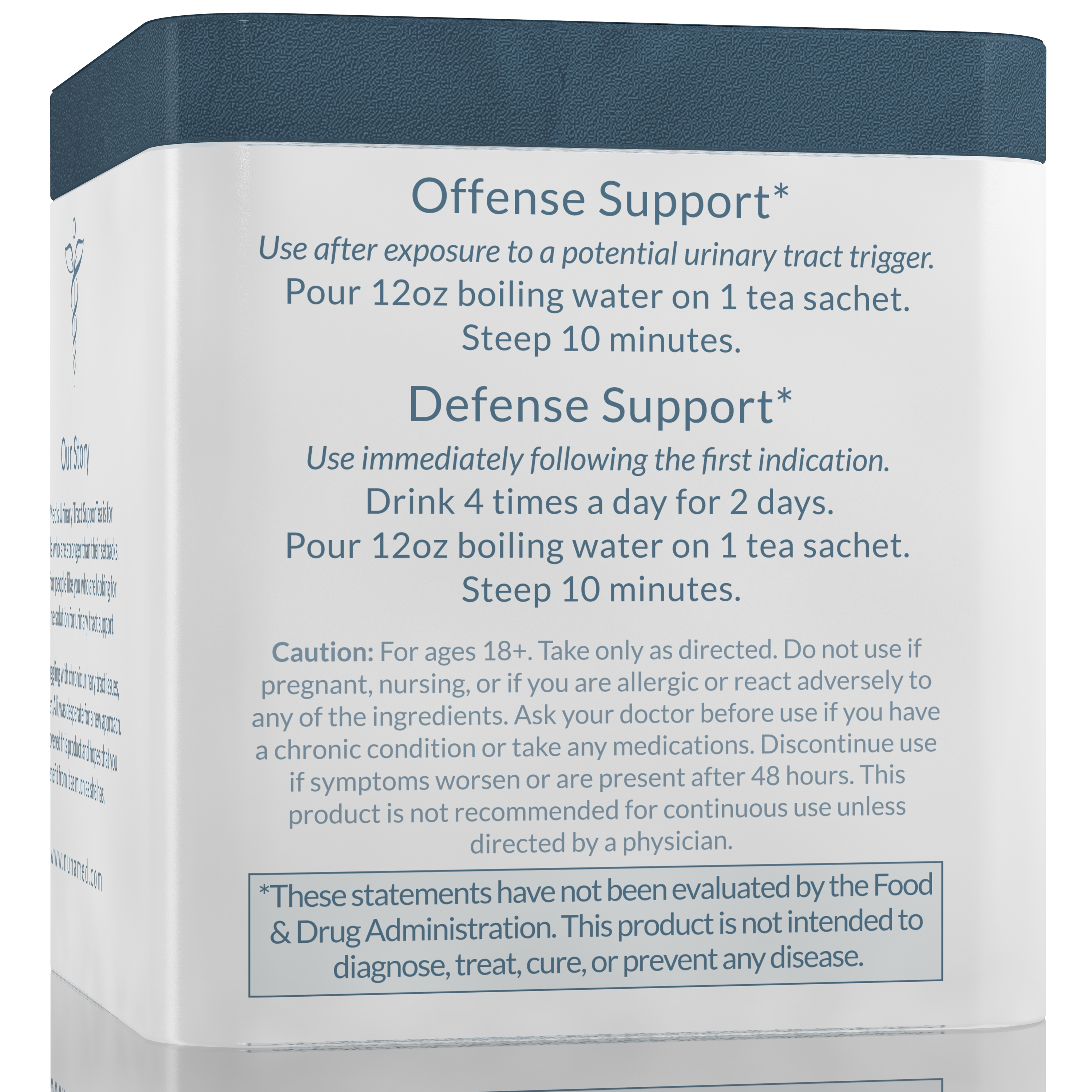 Urinary Tract SupporTea - Offense Support & Defense Support Directions